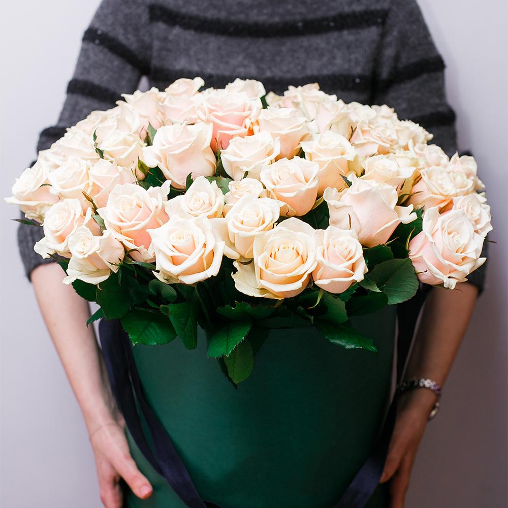 Fervor Large Ivory Bouquet | Flower Box