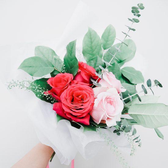 Pink Petite Bouquet Flower