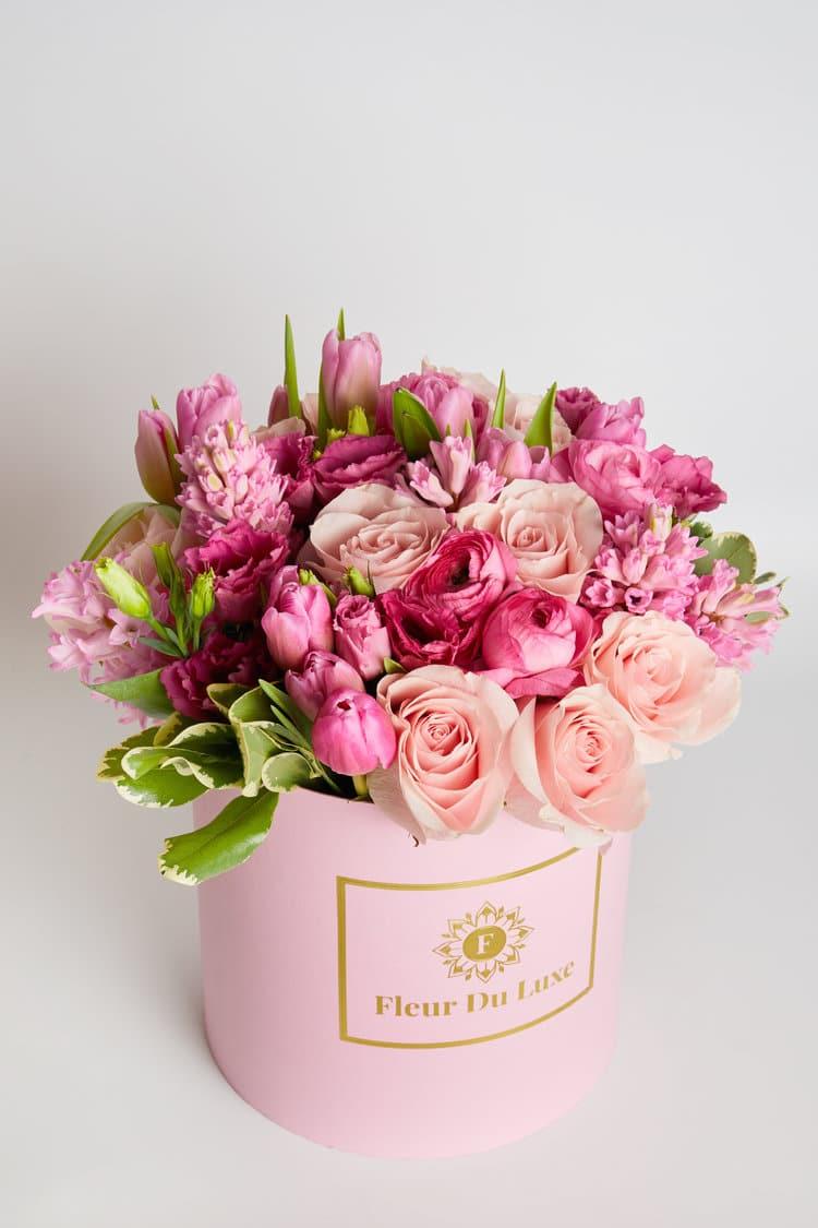 Fleur Du Luxe Boxed Flowers Florist's Choice
