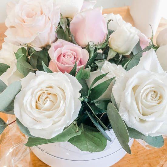 Chic Roses Flower Box
