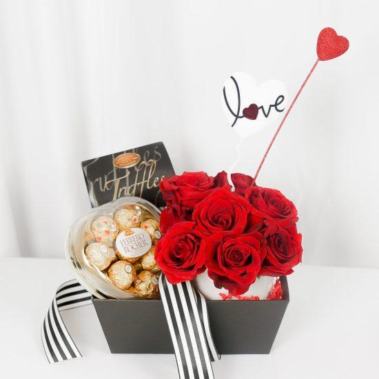 Romantic Valentines Day Flowers