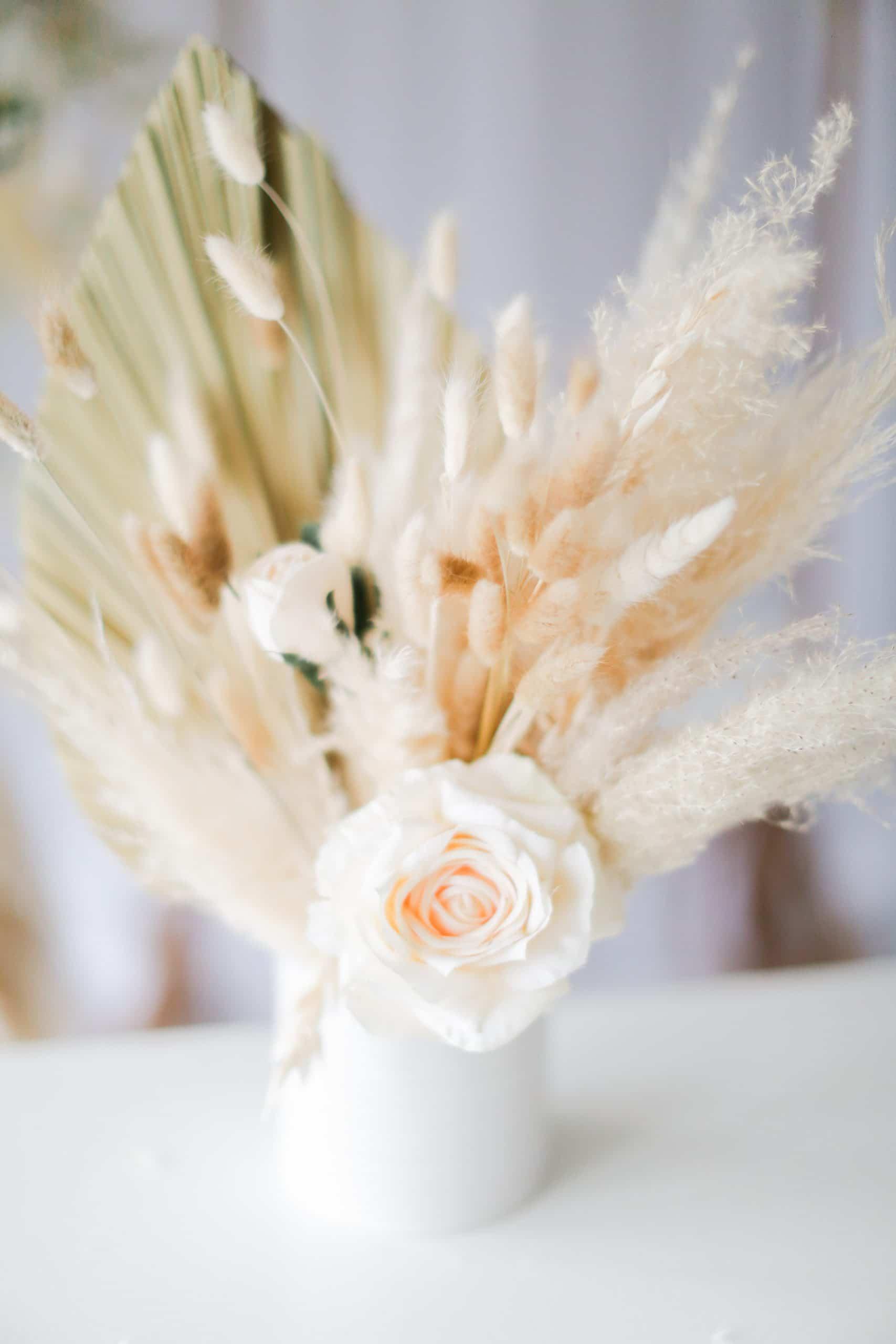 Dried Floral Arrangement Pampas