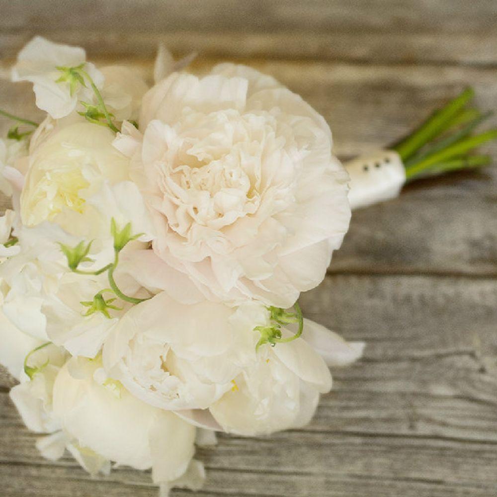 Gilded & Green Flower Bouquet