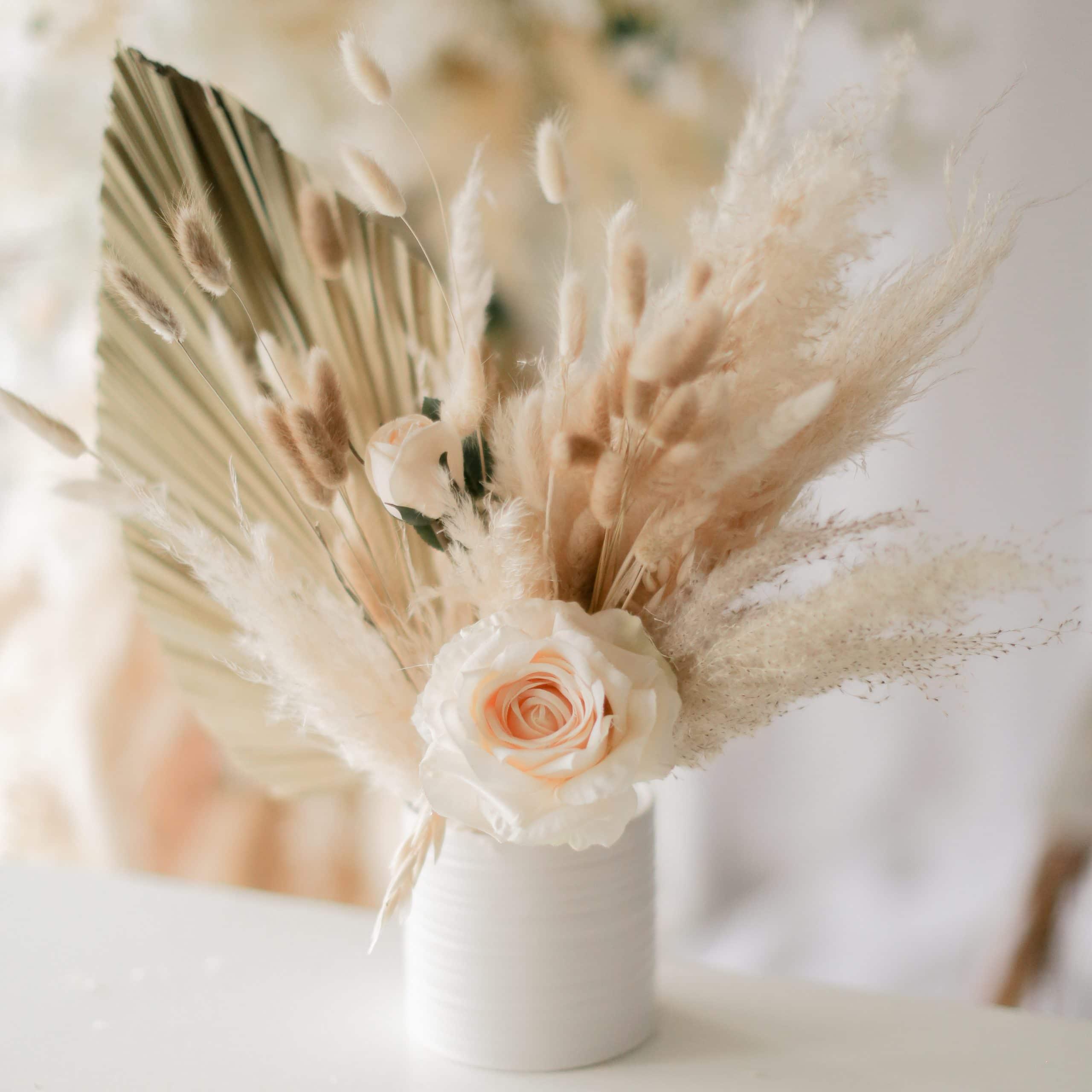 Lush Dried Flower Arrangement