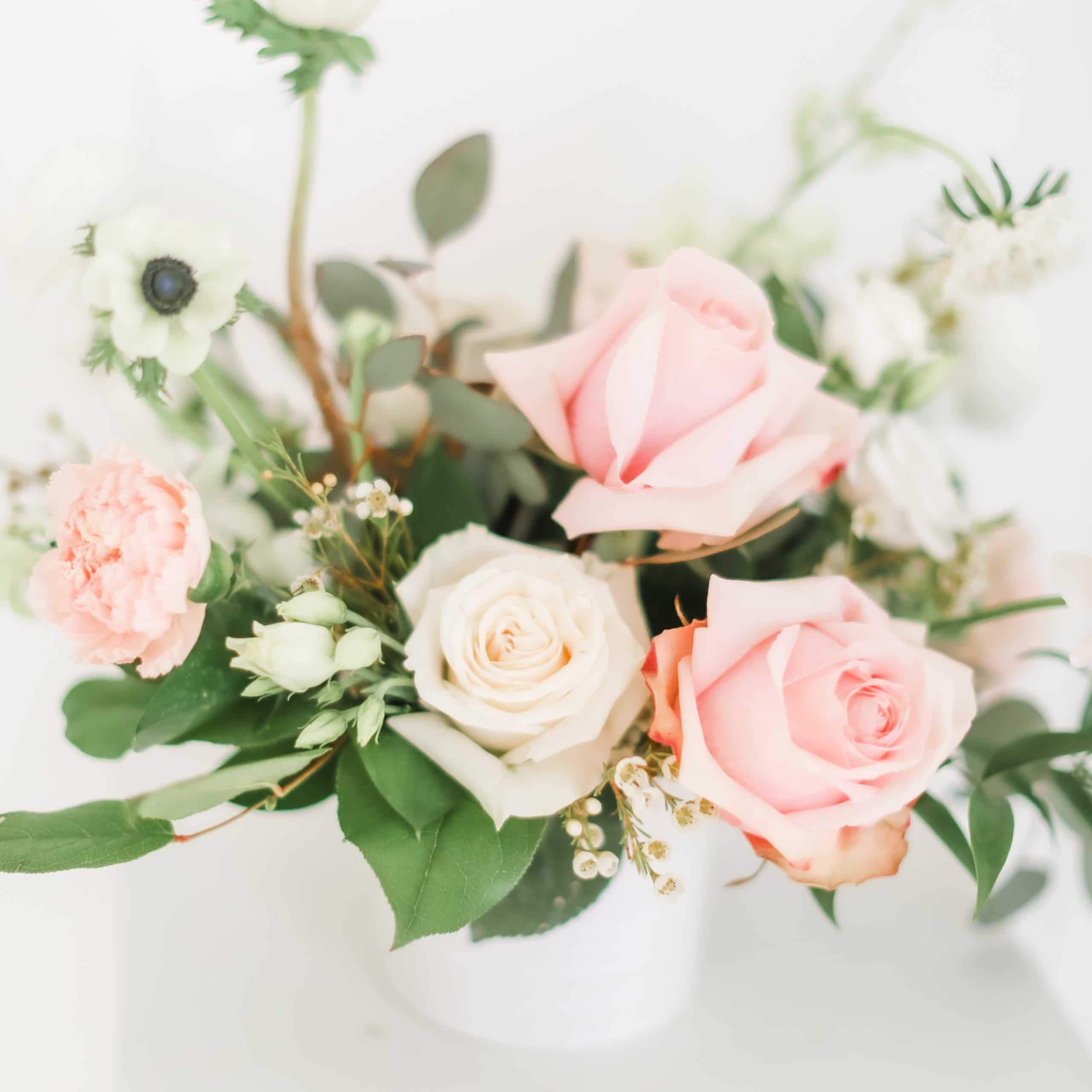 Blush Floral Centerpiece