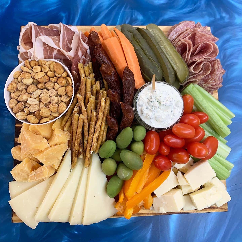 Cheese Boutique charcuterie board
