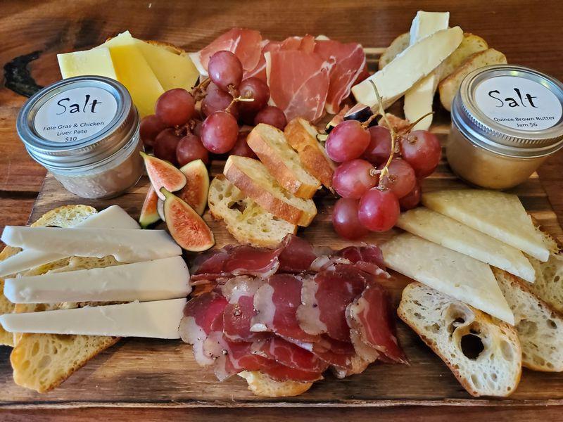 cheese charcuterie board