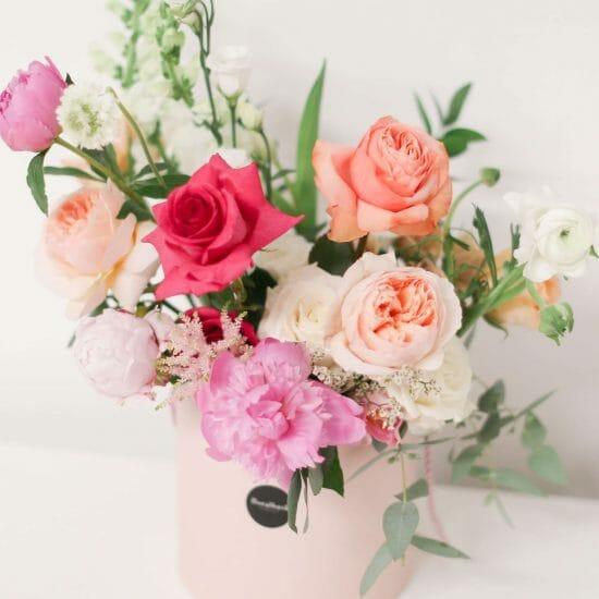 luxury vibrant flower box delivery toronto